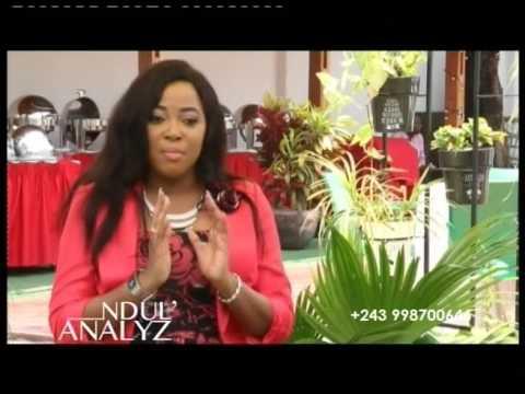 La Sr. Acsa OLANGI dans l'émission NDUL' ANALYZ