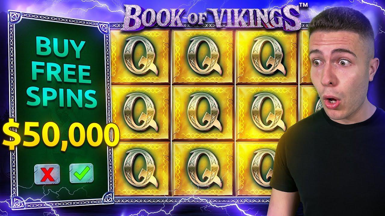 $50,000 Bonus Buy on BOOK OF VIKINGS ⚔️ (50K Bonus Buy Series #18)