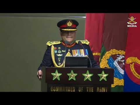 General Shavendra Silva ,CDS & Commander Of the Army Address to Officers on 31 December @ AHQ