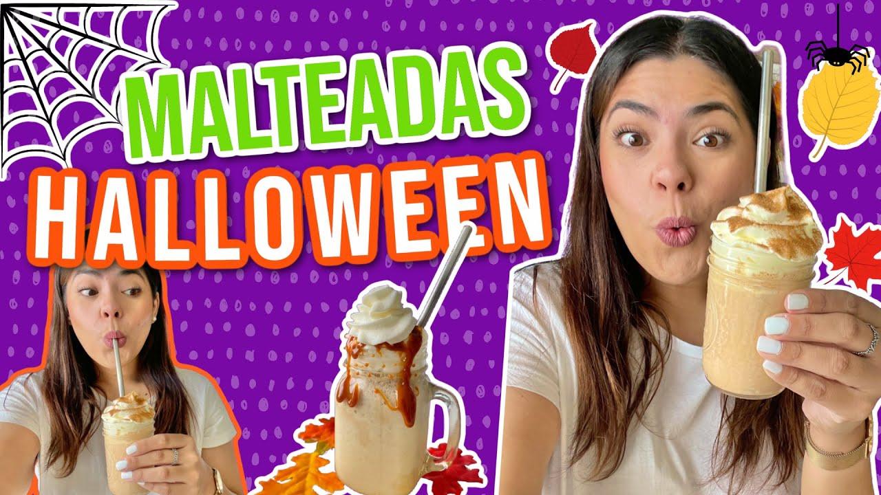 4 MALTEADAS DE HALLOWEEN!! |RebeO