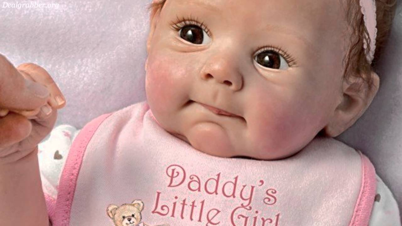 Daddy S Little Girl So Truly Real Lifelike Baby Doll Youtube