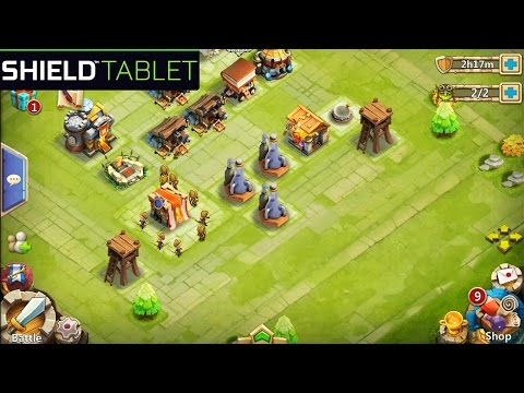 Castle Clash: Age Of Legends - Gameplay Nvidia Shield Tablet Android 1080p