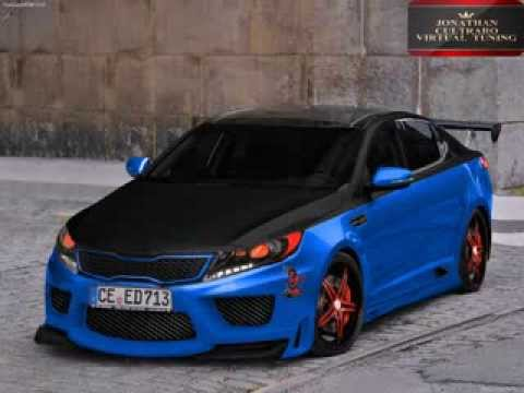 kia optima virtual tuning by jonathan youtube. Black Bedroom Furniture Sets. Home Design Ideas