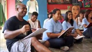 duo bali nine sing amazing grace when in execution
