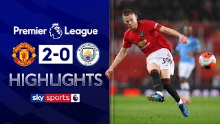 McTominay scores from 40-yards after Ederson error | Man Utd 2-0 Man City | EPL Highlights
