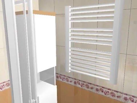 Дизайн ванной 170х170