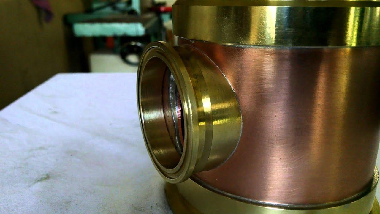 Copper Solder Connection | RNW Moonshine Stills