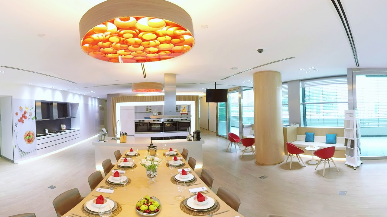 360° View of the Bosch Experience Centre Kitchen
