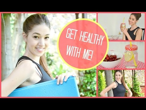 Get Healthy With Me | Makeup, Hair, Outfit, Fitness, Food!!!