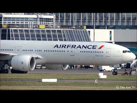 Air France Boeing 777-300 Take Off Dublin Airport