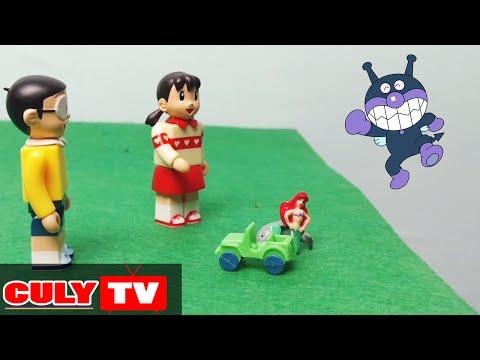 Doremon chế đồ chơi vui #1 - Xuka gặp nàng tiên cá và Ku Đen siêu quậy doremon chế - Funny Doraemon
