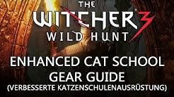 Witcher 3 Guide: Verbesserte Katzenschulenausrüstung