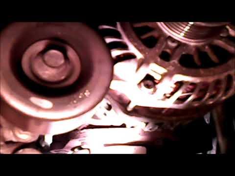 2009 nissan murano alternator replacement part 1