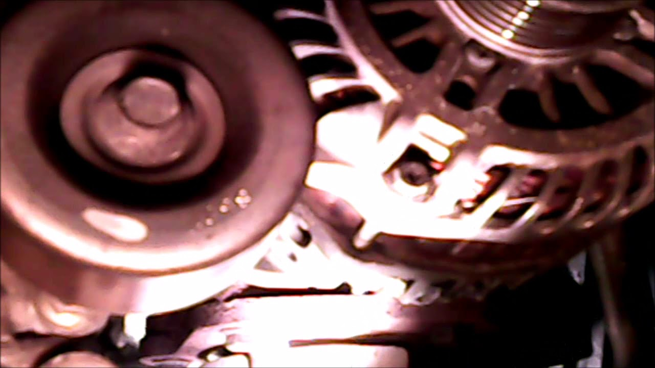2009 nissan murano alternator replacet part 1 - YouTube