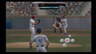 MLB 2K10 (Wii) Angels vs. Rangers (Part 2)