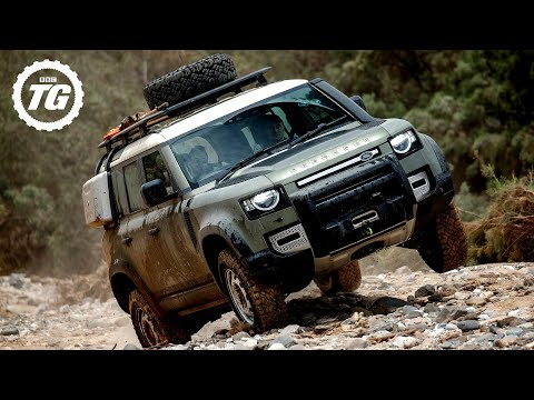 FIRST DRIVE! New Land Rover Defender Review 4K | Top Gear