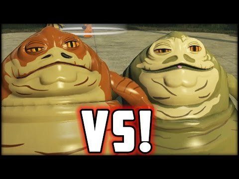 LEGO Star Wars The Force Awakens - Jabba vs. Graballa - The Hutts!
