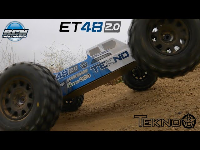 Tekno ET48 2.0 1/8th Truggy - Running / Bashing - HOBBYWING, GensAce, AGFRC, Pro-Line Equipped