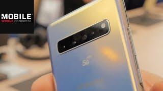 Samsung Galaxy S10 5G im First Look: Viertes S10-Modell auf dem MWC!