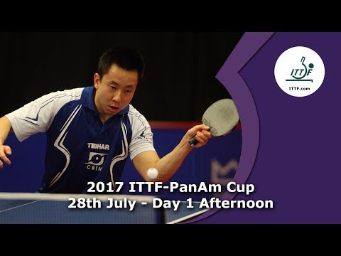 2017 ITTF-PanAm Cup Day 1 - Afternoon