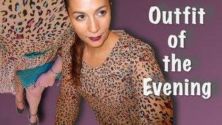OOTN - Leopard Flirty Minidress Thumbnail