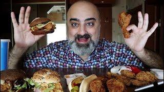 ОБЖОР!!! KFC (КУЧА СНЕДИ) | УРОД НЕ СОВРАЛ!!! | Жру.ру#187 | MukBang ASMR Eating Slurp