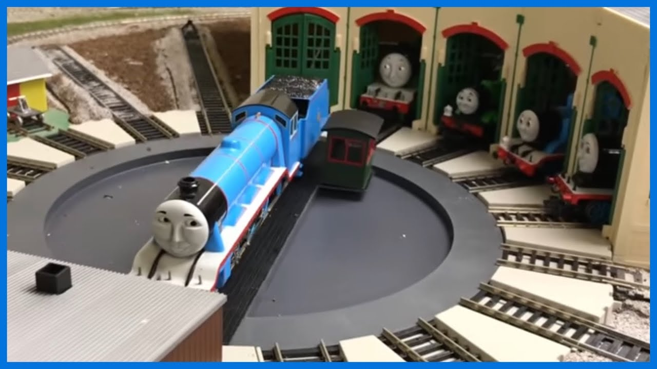 Motorized Turntable At Tidmouth Sheds Thomas And Friends