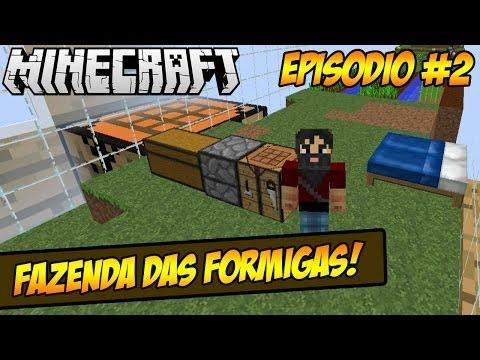 Minecraft - Ant Farm - Formigas Trabalhadoras!!! - Parte #2