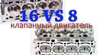 видео Какой двигатель лучше: 8- или 16-клапанный?