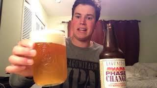 Lagunitas Brewing- Phase Change Wet Hop IPA Review (2019 One Hitter Series)