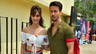 Tiger Shroff and Disha Patani spotted on a reality TV show