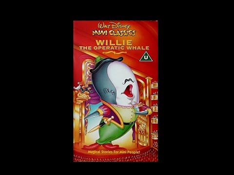 Digitized opening to Willie the Operatic Whale (UK VHS)