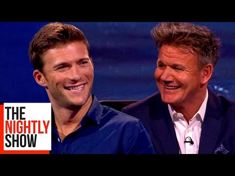 Gordon Ramsay Asks Scott Eastwood for Scarlett Johansson's Phone Number