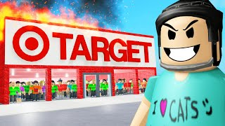 I trapped 100 PLAYERS in a Roblox TARGET..