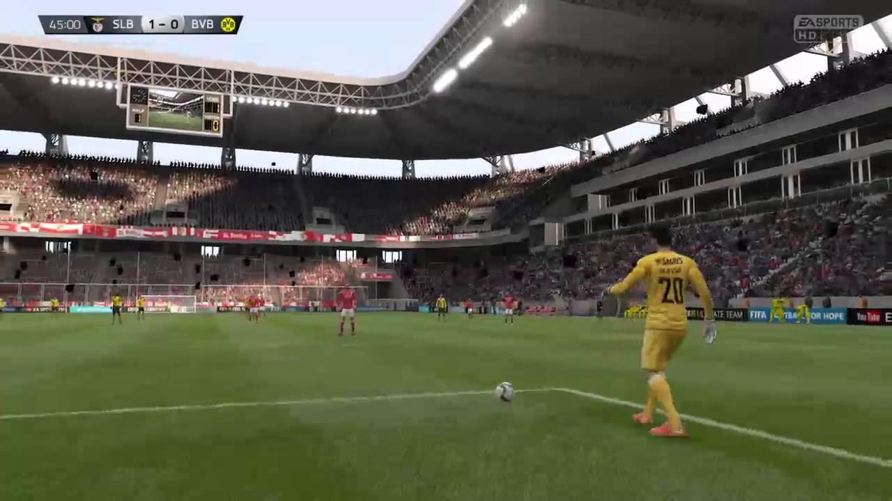 Benfica Vs Borussia Dortmund