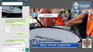 Download Mp3 Wa 08122742814    Testimoni Pembelian Bass Drum Suporter    Suara Bass Suporter