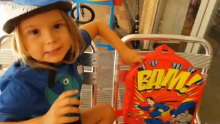 Indigo rides his Early Rider Bike to the beach - review