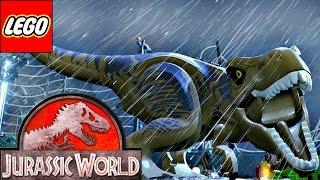 LEGO Jurassic World Прохождение - ЛЕГО ПАРК ЮРСКОГО ПЕРИОДА Мультик игра для детей 4 серия