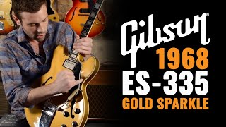 1968 Gibson ES-355 Custom Gold Sparkle