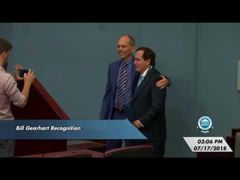 Arlington County Board Meeting - July 17, 2018