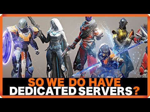 Destiny 2 | Wait, so we do have dedicated servers? | BUNGIE RESPONSE TO SERVERS SITUATION