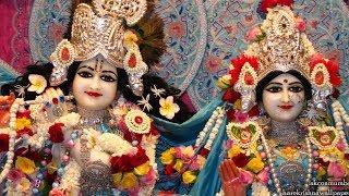 Sandhya Arati Darshan Sri Sri Radha Rasbihari Temple 22nd Oct 2018 Live from ISKCON Juhu, Mumbai