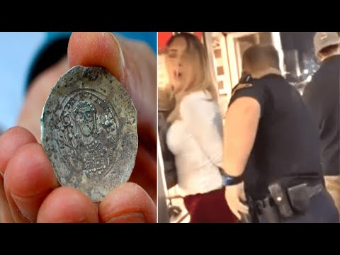 Girl Finds 701 Year Old Coin, Years Later Cops Decide To Arrest Her