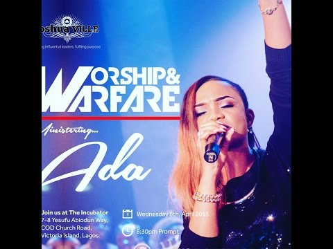 ADA - YAHWEH Live at JoshuaVille Lagos  (with lyrics)