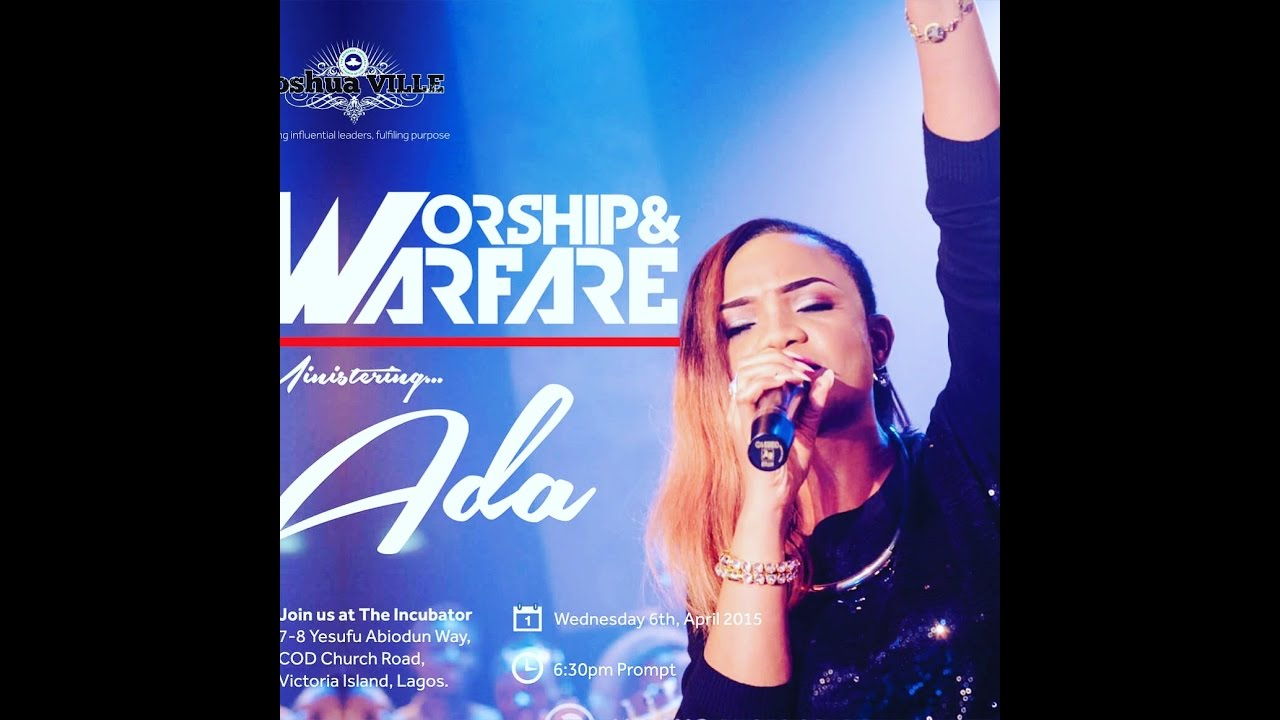 Ada Yahweh Live At Joshuaville Lagos With Lyrics