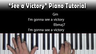 Download See a Victory - Piano Tutorial - Elevation Worship [Bb] Mp3 and Videos
