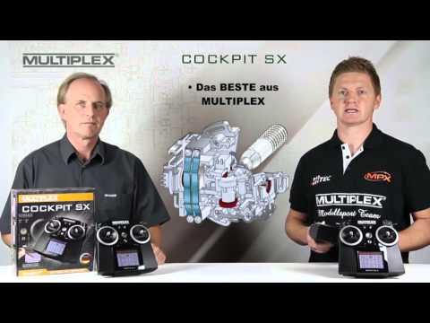 MULTIPLEX COCKPIT SX 7 COCKPIT SX 9 Weymuller
