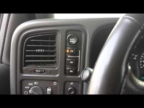 4 wheel drive noises