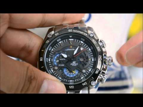 How to set time and date in CASIO EDIFICE EF-550RBSP??