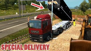 Repeat youtube video ETS2 SPECIAL DELIVERY: MAN TGA + Tipper Trailer mod (Euro Truck Simulator 2)